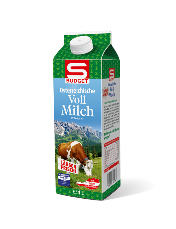 S-BUDGET Vollmilch
