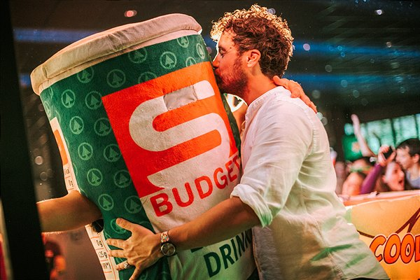 DJ Coverrun bei S-BUDGET-Party